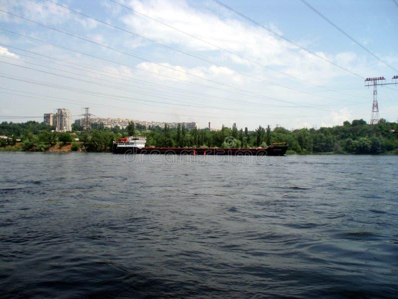 Río de Dnepr Ucrania, ¿Ñ€ del ½ Ð?Ð de Ñ€Ð?ка Ð'Ð imagen de archivo
