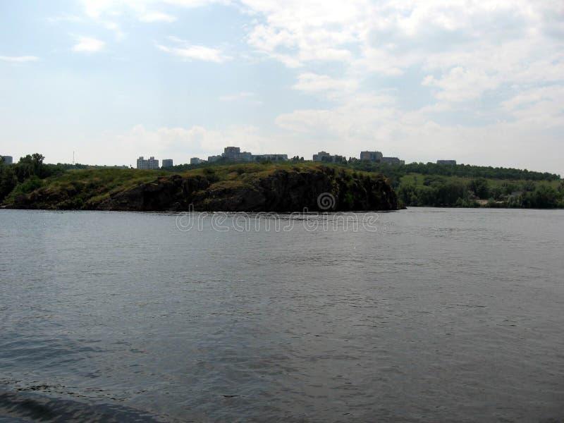 Río de Dnepr ucrania imágenes de archivo libres de regalías