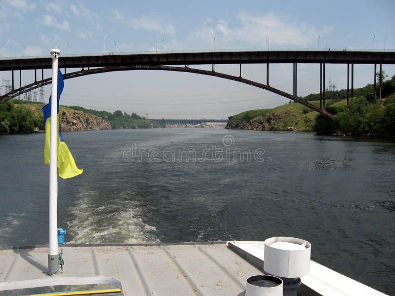 Río de Dnepr ucrania fotos de archivo
