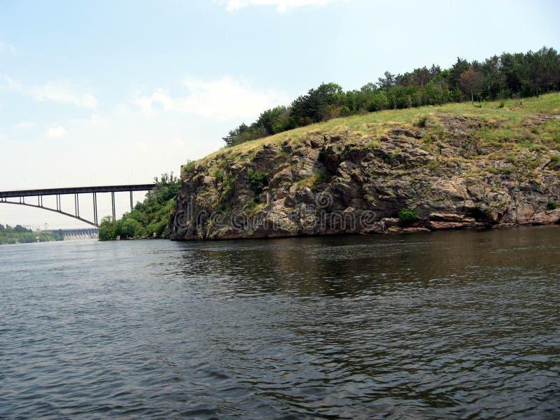 Río de Dnepr ucrania fotografía de archivo libre de regalías