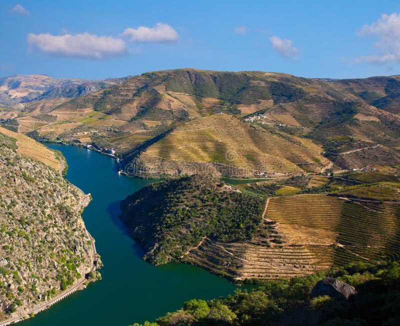 Río de Douro imagen de archivo libre de regalías