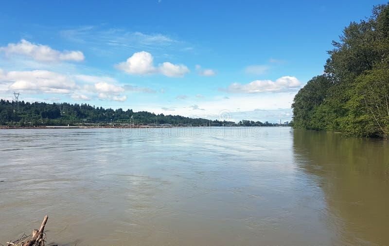 Río de Fraser imagenes de archivo