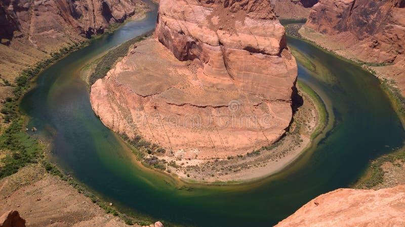 Río de herradura imagen de archivo