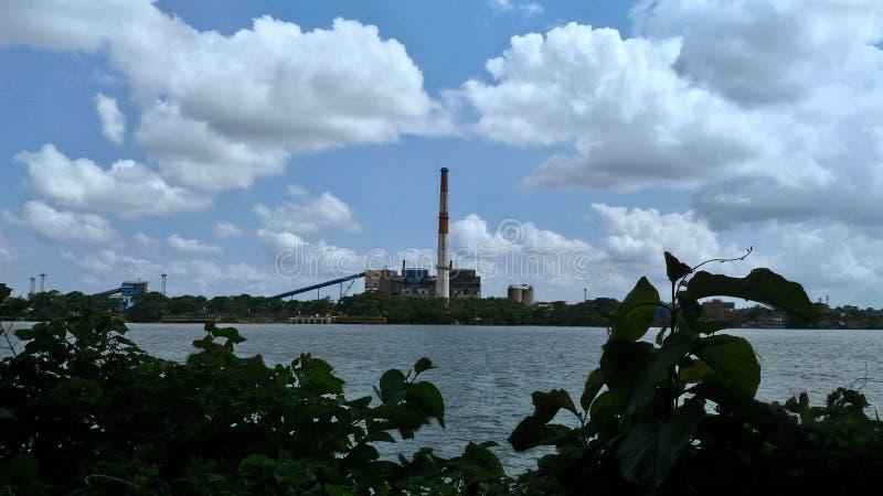 Río de Hoogly foto de archivo