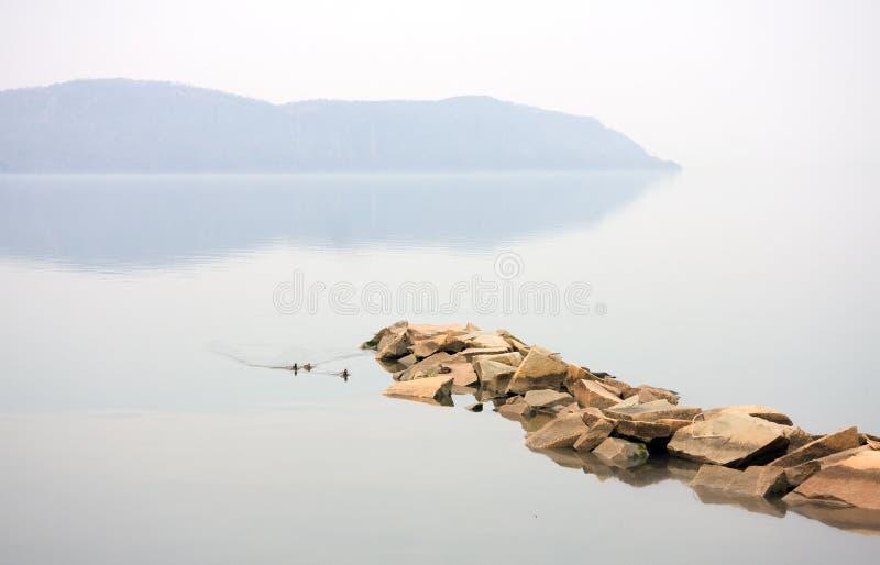 Río de Hudson foto de archivo