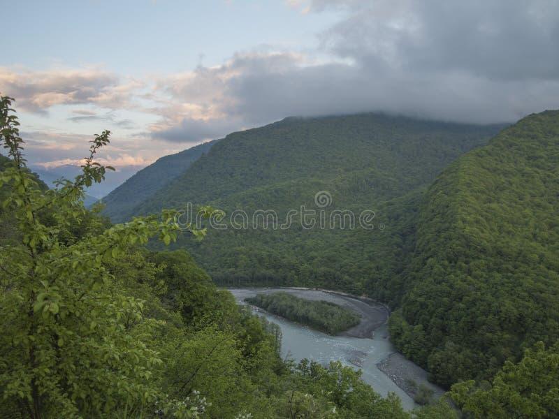 Río de Kodor imagen de archivo libre de regalías