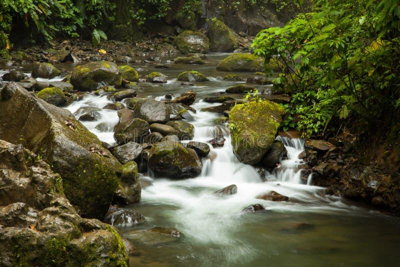 Río de La Paz fotografiado en Costa Rica fotos de archivo libres de regalías