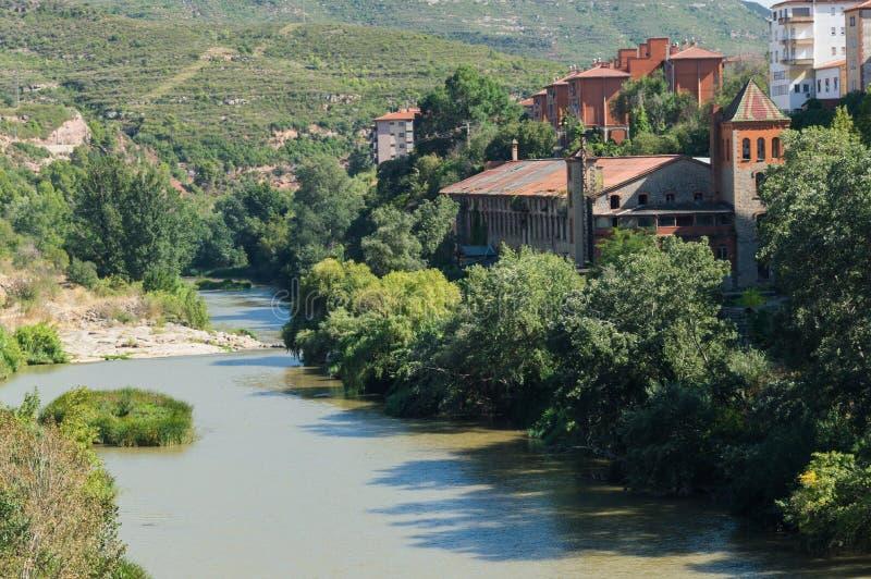 Río de Llobregat foto de archivo libre de regalías
