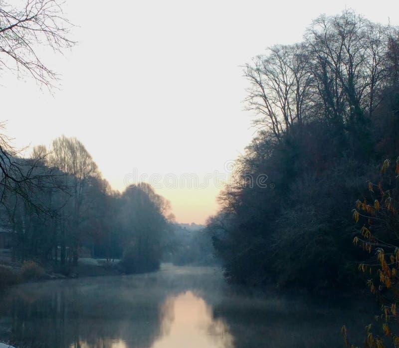 Río de los inviernos fotos de archivo