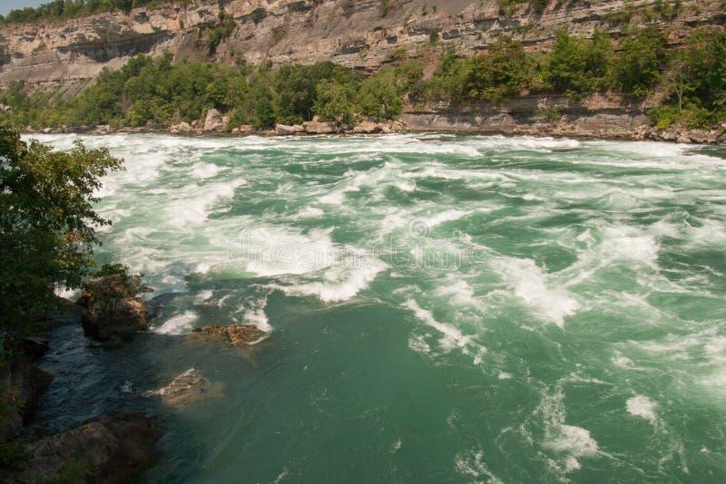 Río de Niagra foto de archivo
