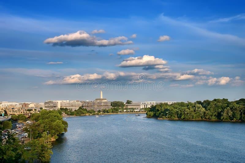 Río de Potomac, Washington DC imagen de archivo libre de regalías