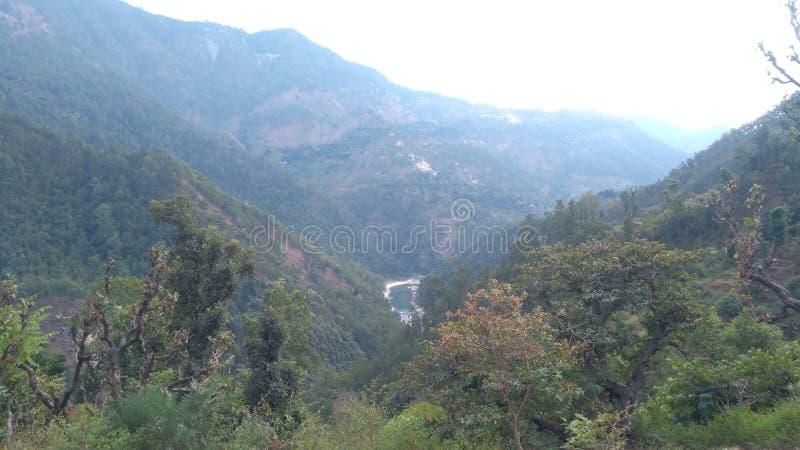Río de Ramganga foto de archivo libre de regalías