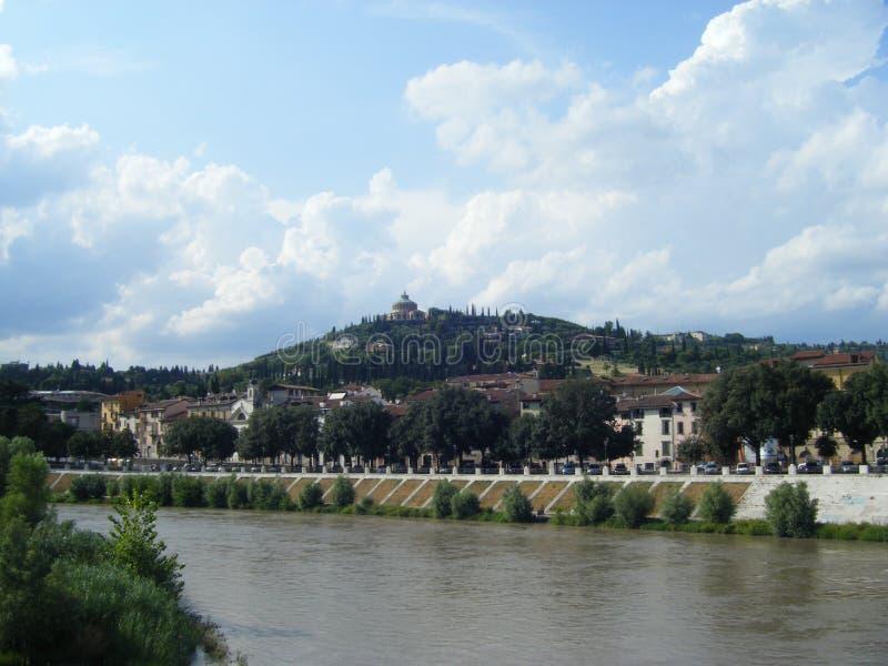 Río de Verona, Italia, Europa foto de archivo libre de regalías
