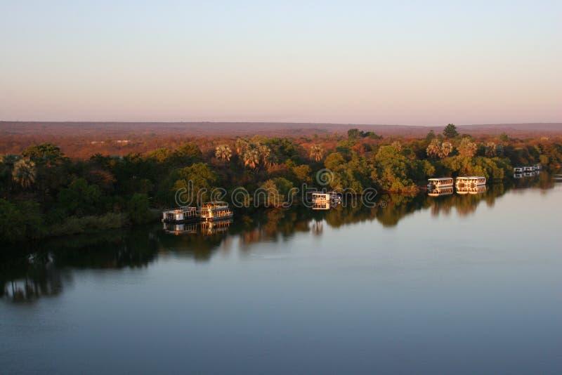 Río de Zambezi fotografía de archivo libre de regalías