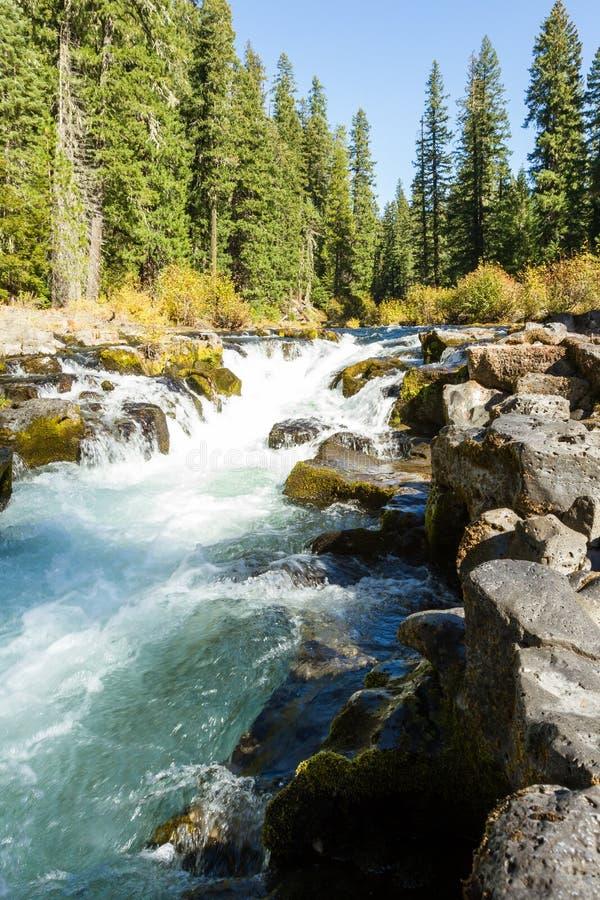 Río del colorete, Oregon fotos de archivo