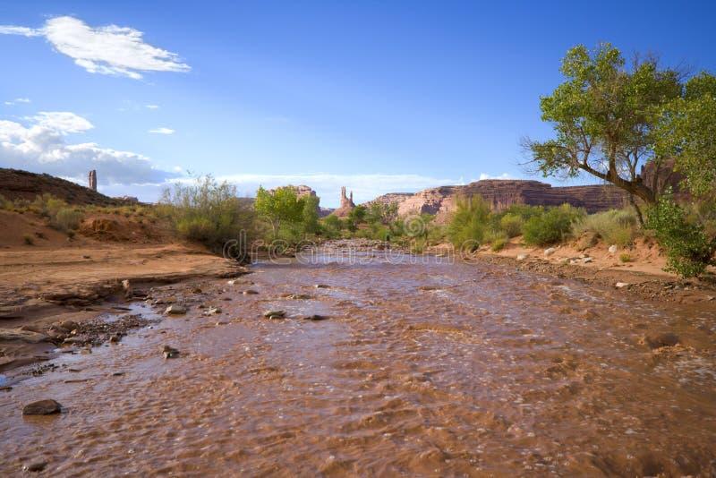Río del fango foto de archivo libre de regalías