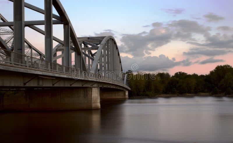 Río del puente imagenes de archivo