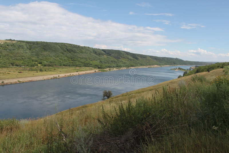Río Dnister imagen de archivo libre de regalías