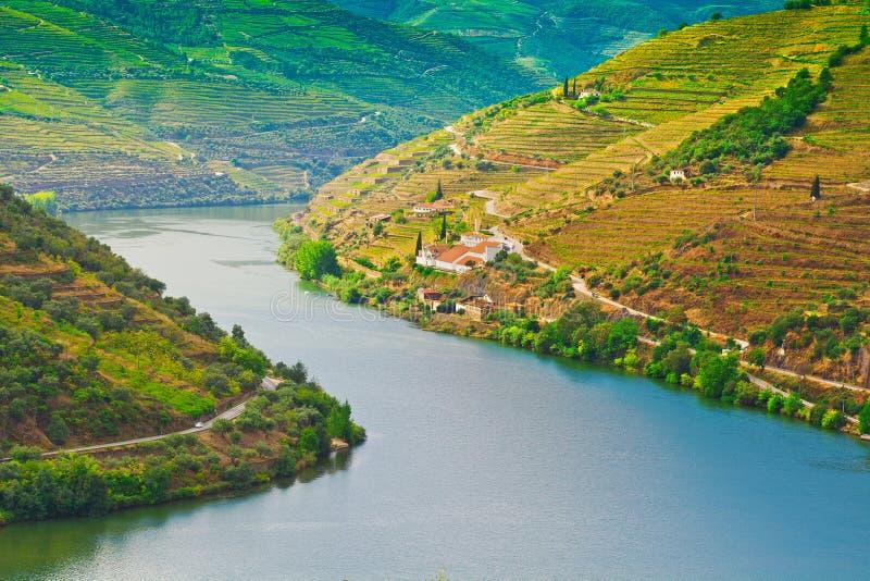 Río el Duero fotos de archivo
