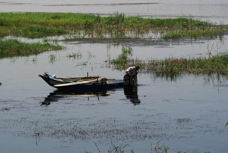 Río el Nilo fotos de archivo libres de regalías