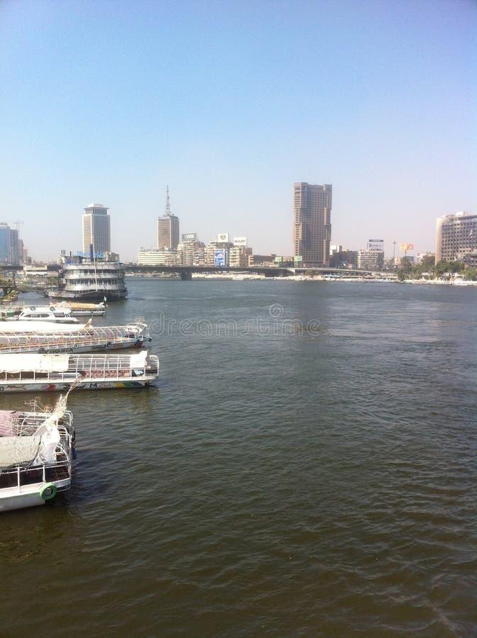 Río el Nilo, Egipto imagenes de archivo