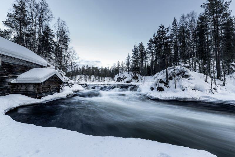 Río frío imagen de archivo libre de regalías