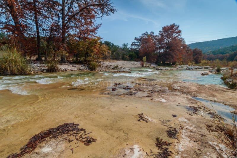 Río Garner State Park de Frio en Tejas fotografía de archivo libre de regalías