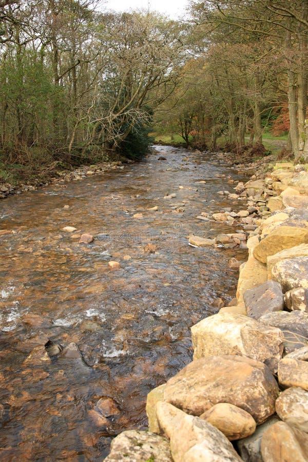 Río Gelt, Cumbria fotografía de archivo libre de regalías