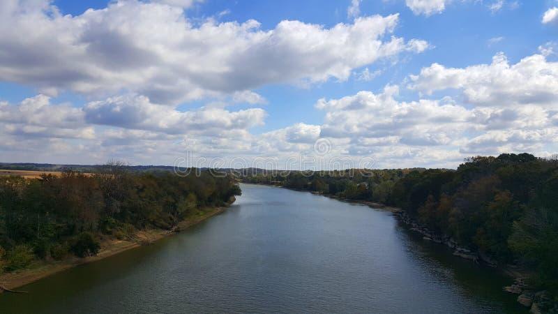 Río grande a Nashville fotografía de archivo