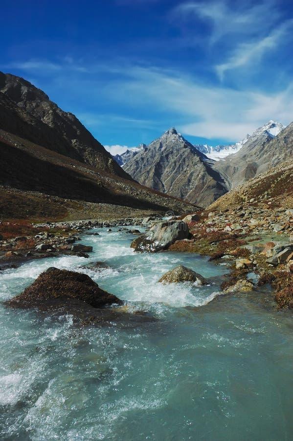 Río Himalayan imágenes de archivo libres de regalías