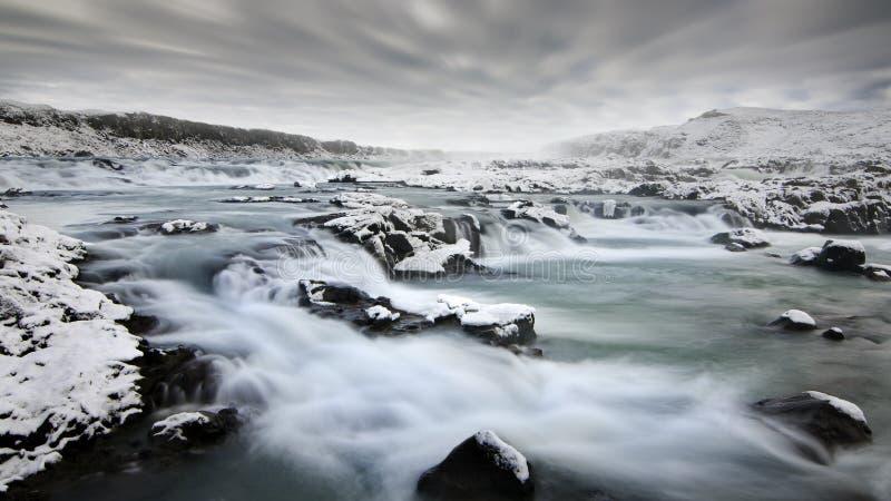 Río islandés foto de archivo libre de regalías