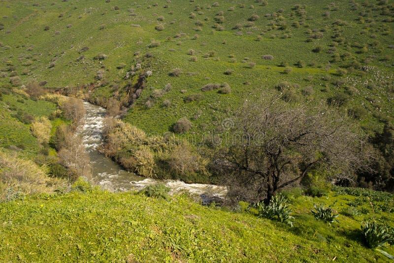 Río Jordán Israel imagen de archivo libre de regalías
