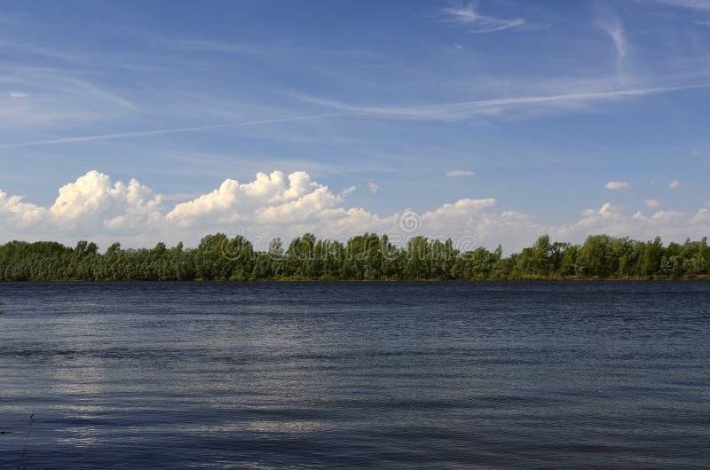 Río Kama fotografía de archivo