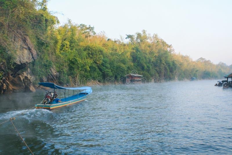 Río Kwai foto de archivo libre de regalías