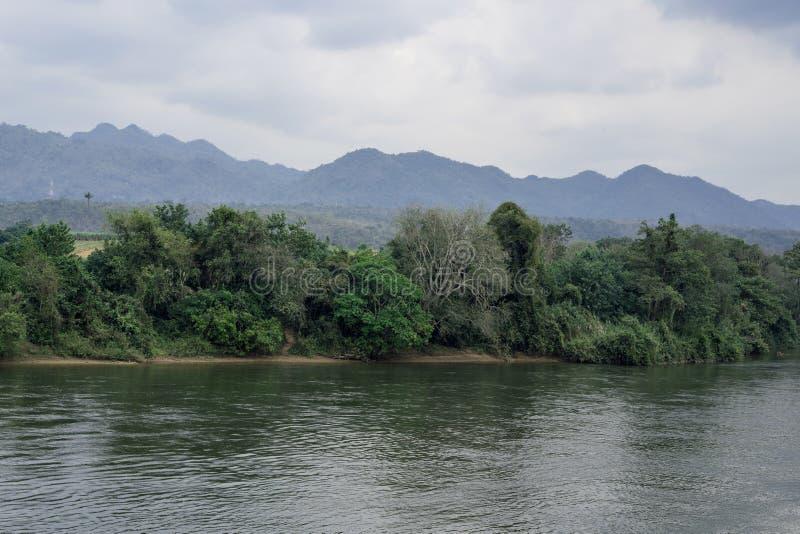 Río Kwai fotografía de archivo