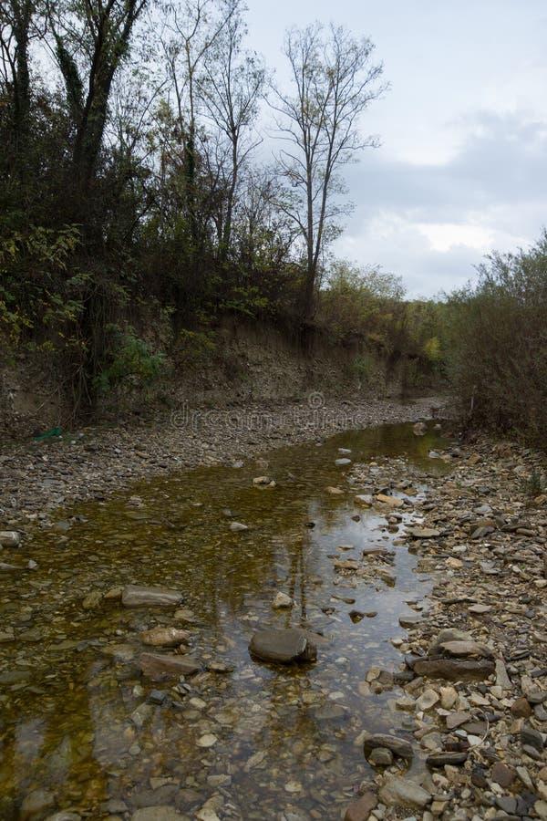 Río llamativo foto de archivo