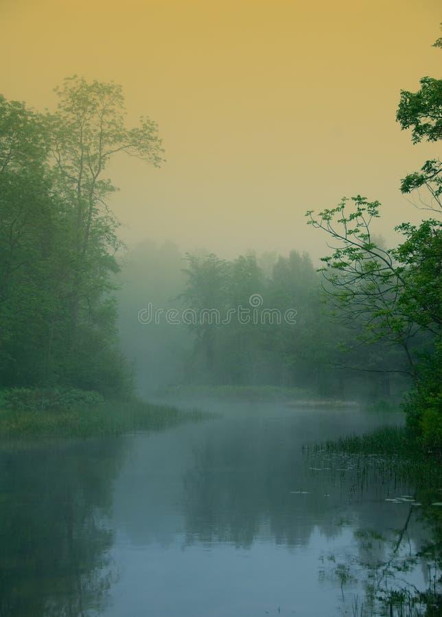 Río mágico imagen de archivo
