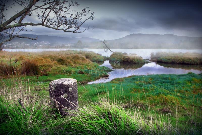 Río místico imagen de archivo libre de regalías
