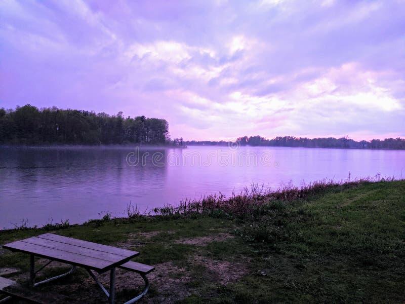 Río místico de Ontario foto de archivo