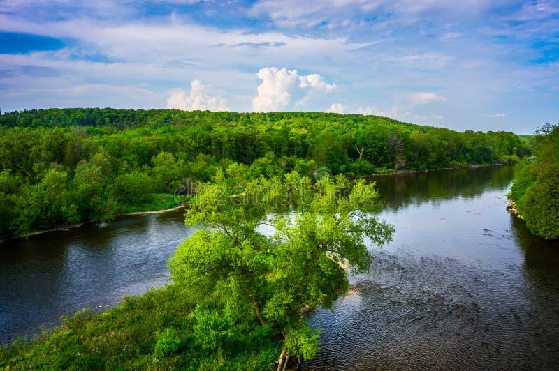 Río magnífico, Ontario imagenes de archivo