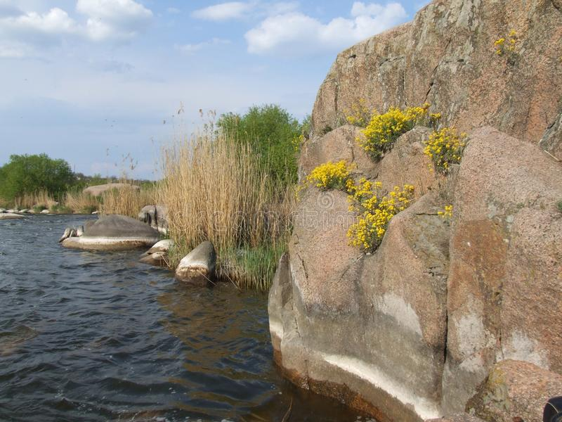 Río meridional del fallo de funcionamiento Día de resorte imágenes de archivo libres de regalías