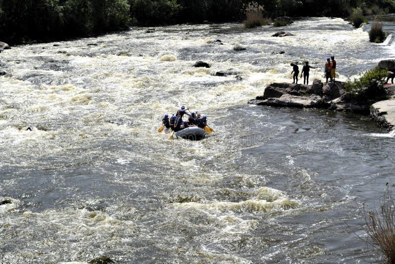 Río meridional del fallo de funcionamiento Día de resorte fotos de archivo libres de regalías