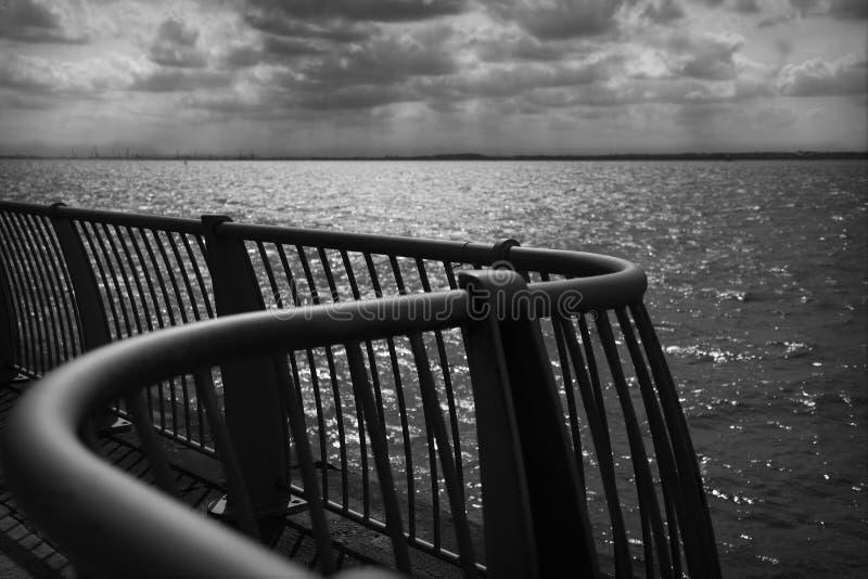 Río Mersey fotografía de archivo