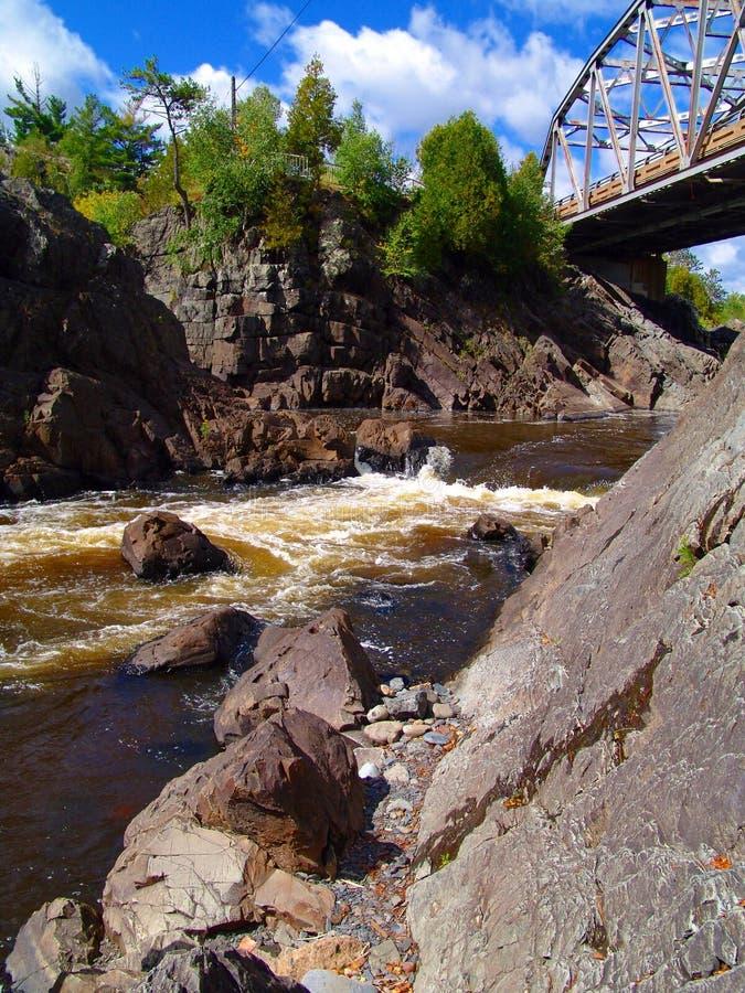 Río Minnesota del St. Lorenzo fotografía de archivo libre de regalías