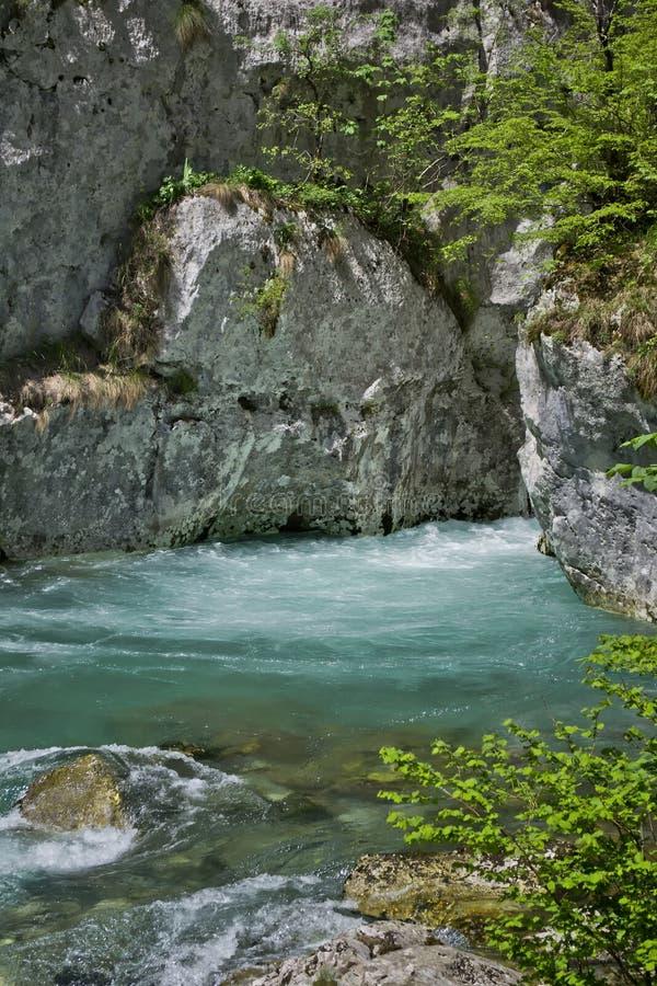 Río Mrtvica foto de archivo libre de regalías