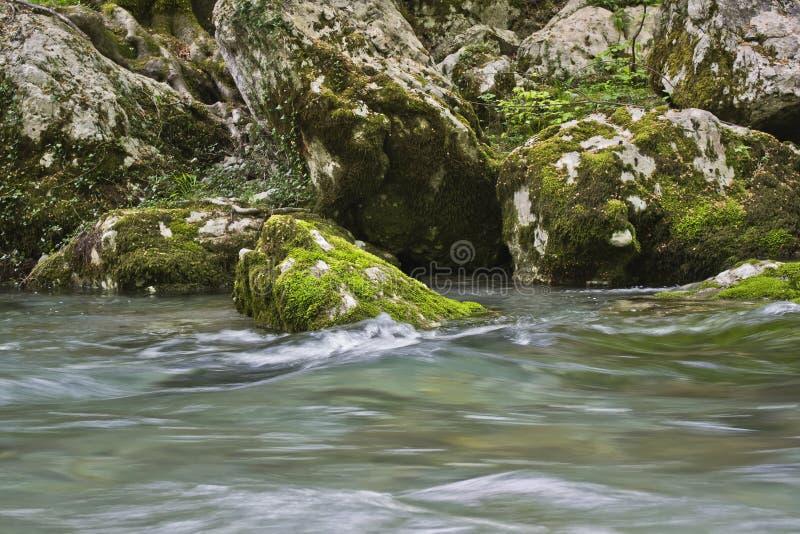 Río Mrtvica imagenes de archivo