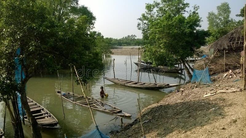 río muy bonito fotografía de archivo