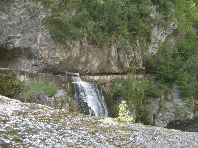 Río occidental Djetinja de Serbia fotos de archivo