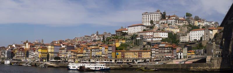 Río Oporto Portugal del Duero del panorama fotos de archivo
