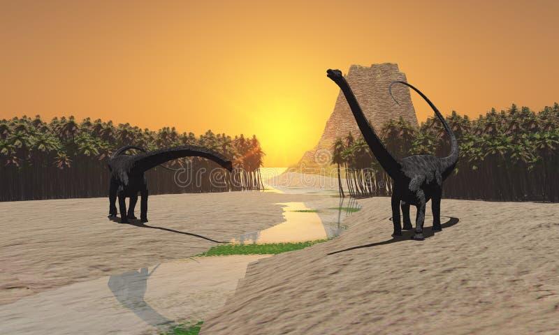 Río prehistórico imágenes de archivo libres de regalías